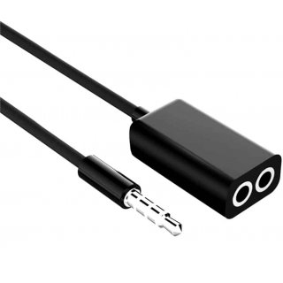 Adapter Splitter Jack Stereo MINI(M) 4-PIN->JACK MINI(F) X2