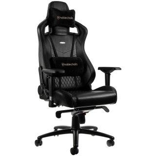 Fotel Dla Gracza Noblechairs EPIC Real Leather Black