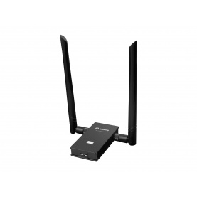 Karta sieciowa WiFi Lanberg NC-1200-WE AC1200 Dual Band 2