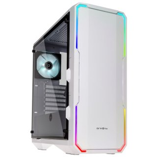 Obudowa BitFenix Enso RGB Tempered Glass White