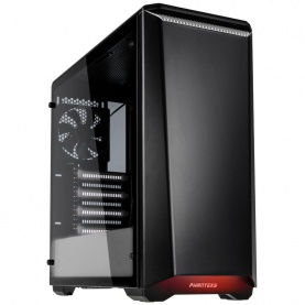 Obudowa Phanteks Eclipse P400S Wyciszona Tempered Glass Black-White